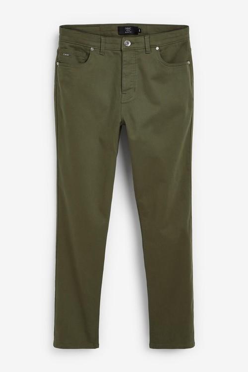 Next Motion Flex Soft Touch Trousers-Slim Fit