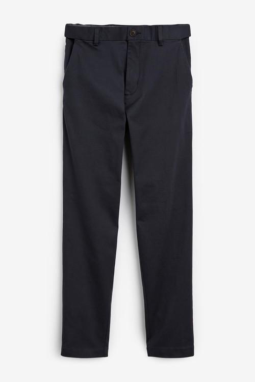 Next Motion Flex Stretch Chino Trousers-Slim Fit
