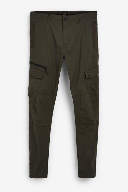 Next Elasticated Tech Cargo Trousers