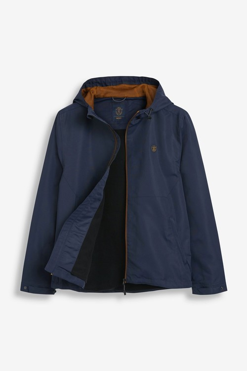 Next Shower Resistant Jacket With Fleece Lining