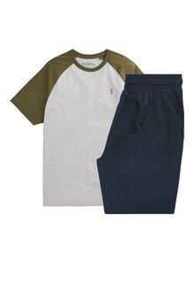 Next Raglan Pyjama Set - 285131