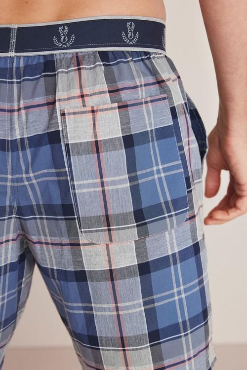 Next Check Woven Pyjama Set