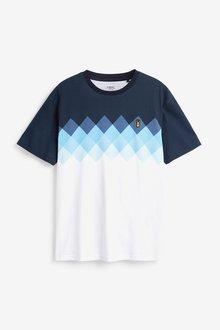 Next Ombre Argyle Short Pyjama Set - 285146