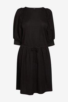 Next Puff Sleeve Dress - 285155