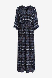 Next Kaftan Long Sleeve Dress - 285157