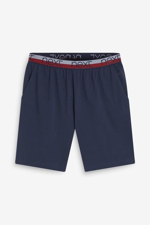Next Lightweight Jersey Shorts Two Pack