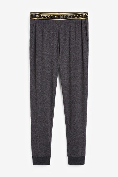 Next Two Pack Slim Cuffed Joggers