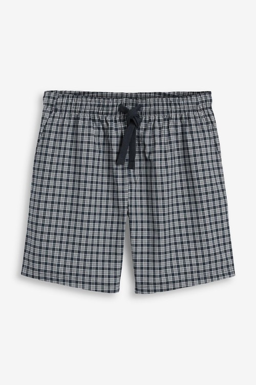Next Lightweight Woven Shorts Pyjamas 2 Pack