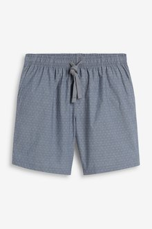 Next Lightweight Woven Shorts Pyjamas 2 Pack - 285186