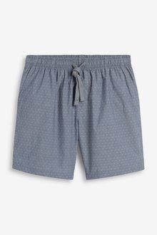 Next Lightweight Woven Shorts Pyjamas 2 Pack - 285186