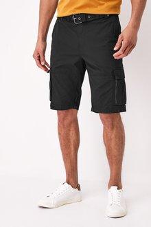 Next Belted Cargo Shorts - 285199