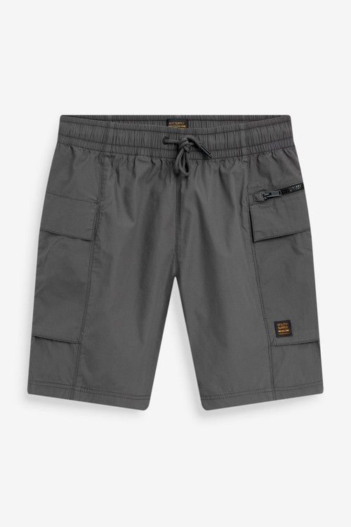 Next Lightweight Drawstring Cargo Shorts