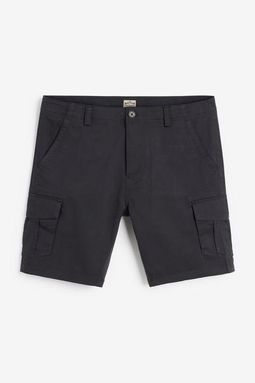Next Cotton Cargo Shorts-Slim Fit
