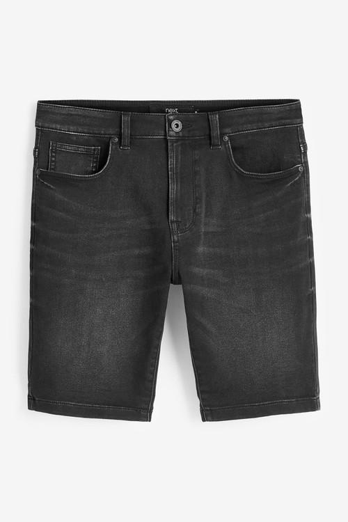 Next Super Stretch Denim Shorts
