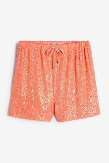 Next Sequin Shorts - 285248