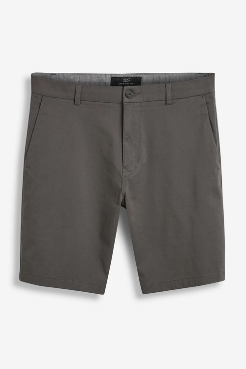 Next Stretch Chino Shorts 2 Pack-Straight Fit
