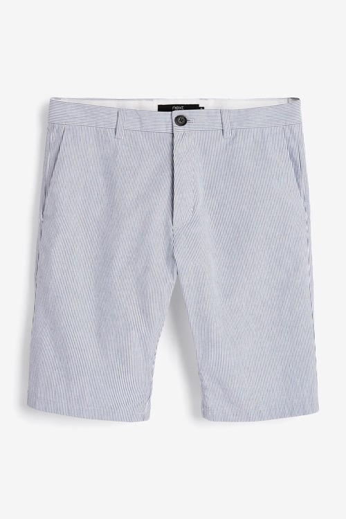 Next Fine Stripe Chino Shorts