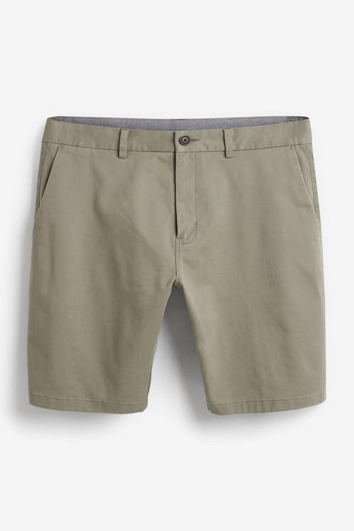 Next Stretch Chino Shorts-Skinny Fit