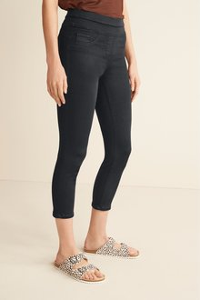 Next Super Stretch Soft Sculpting Cropped Skinny Jeans-Tall - 285369