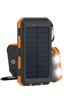 TODO 8000mAH Solar Power Bank with Led Torch - 285449