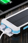 TODO 8000mAH Solar Power Bank with Led Torch