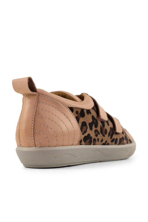 Tesselli XD Belinda Double Velcro Leather Sneakers