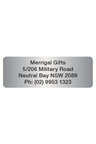 Personalised 500 Classic Address Labels