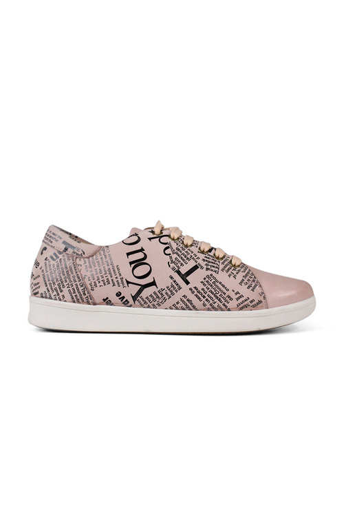 Tesselli XD Hadley Lace Up Leather Sneakerss