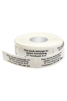 Personalised 500 Long Address Labels