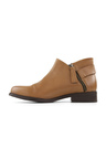 Tesselli XD Olive Ankle Zip Boots