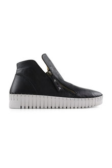 Bueno Ozlem Hi Top Leather Sneakers - 285494