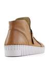 Bueno Ozlem Hi Top Leather Sneakers