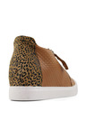 Bueno Santana Lace Up Leather Sneakers
