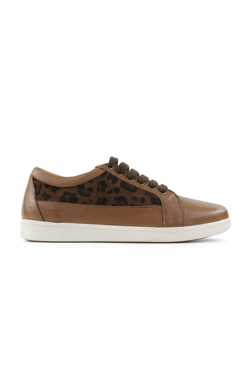 Tesselli XD Harriet Lace Up Leather Sneakerss