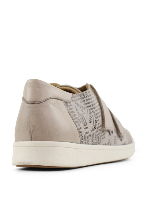 Tesselli XD Hussell Double Velcro Leather Sneakers