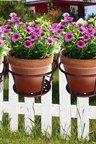 Levede  Metal Flower Holder Hanging Pots Pack of 3
