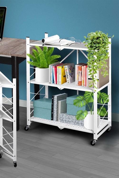 Levede 3 Tier Metal Plant Stand Planter Shelf