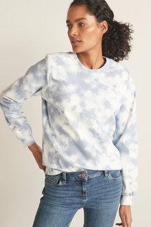 Next Jersey Denim Sweatshirt - 285624