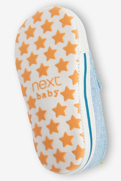Next Slip-On Pram Shoes (0-24mths)