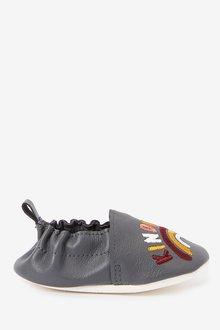 Next Leather Slip-On Pram Shoes (0-24mths) - 285645