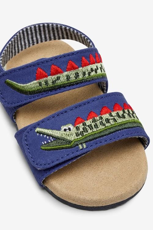 Next Croc Corkbed Pram Shoes (0-24mths)