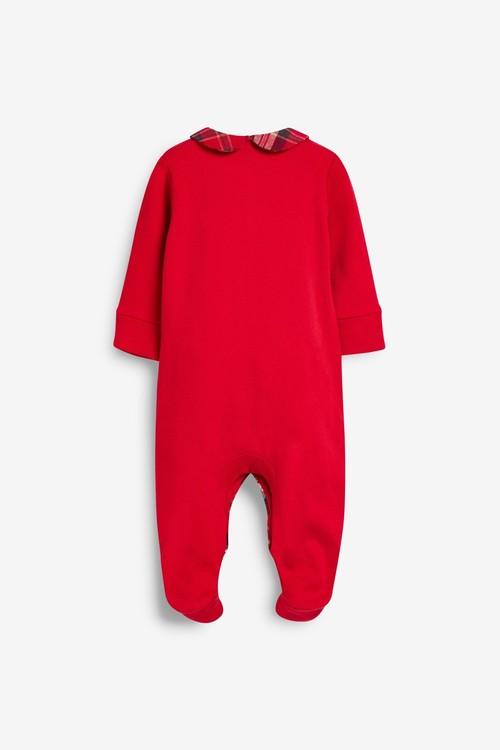 Next GOTS Organic Smart Single Bear Sleepsuit (0mths-2yrs)