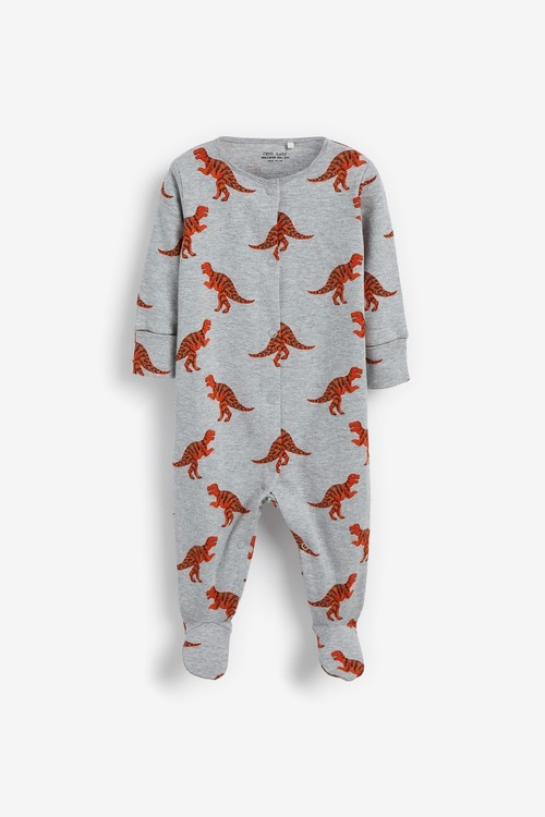 Next 3 Pack Printed Sleepsuits (0mths-2yrs)