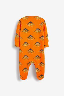 Next 3 Pack Printed Sleepsuits (0mths-2yrs) - 285667