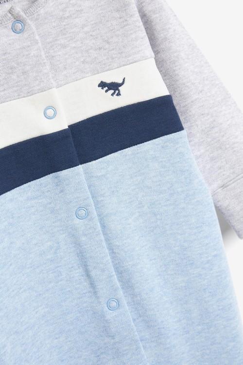 Next Colourblock Smart Sleepsuit (0-2yrs)