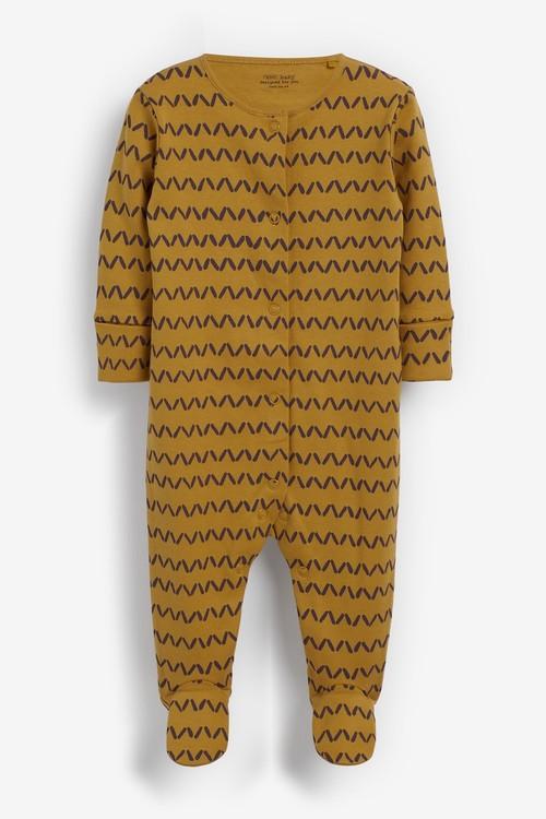 Next 5 Pack GOTS Organic Character Sleepsuits (0mths-2yrs)
