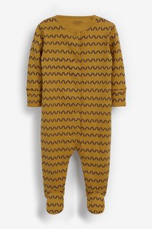 Next 5 Pack GOTS Organic Character Sleepsuits (0mths-2yrs) - 285672