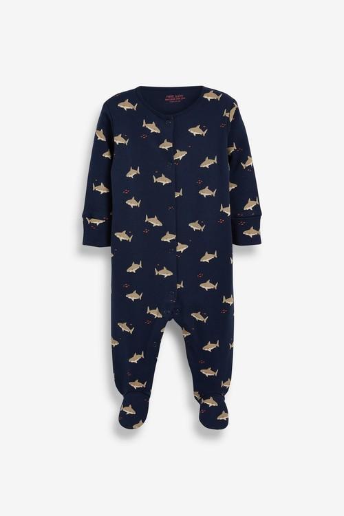 Next 5 Pack Printed Sleepsuits (0-2yrs)