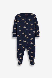 Next 5 Pack Printed Sleepsuits (0-2yrs) - 285673