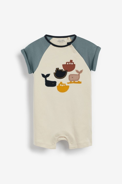 Next 4 Pack Rompers (0mths-3yrs)